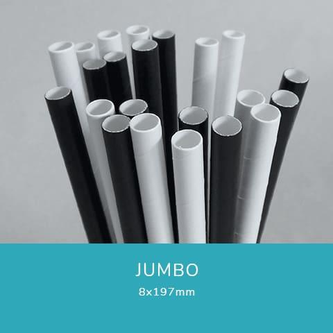 Jumbo papírszívószál