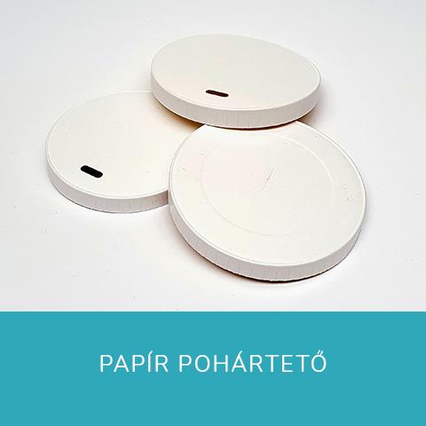 Papír pohártető